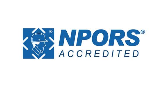 npors accredited logo