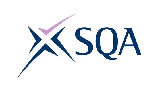 sqa, scottish qualifications authority logo